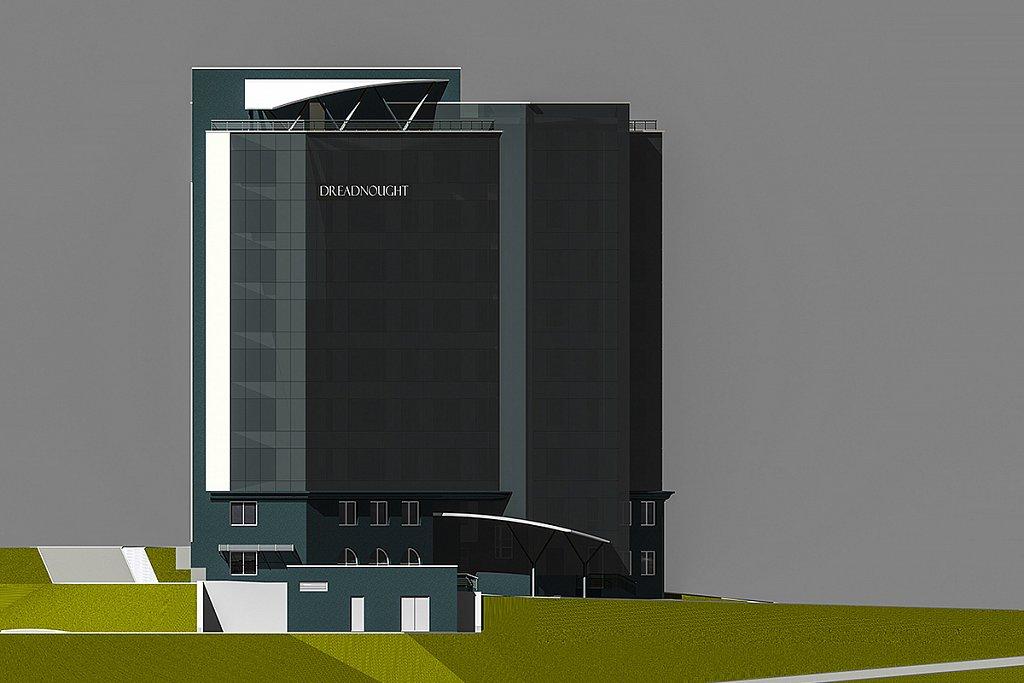 Бизнес-центр ДРЕДНОУТ по ул.Авроровской в г.Владивостоке
